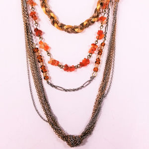 Coldwater Creek multilayered necklace